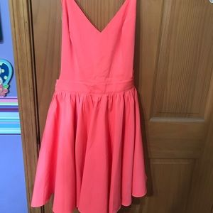 Strappy Hot Pink Dress NWOT